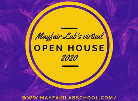 Virtual Open House 2020