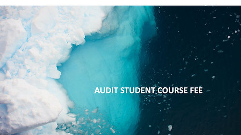 Audit Student Course Fee