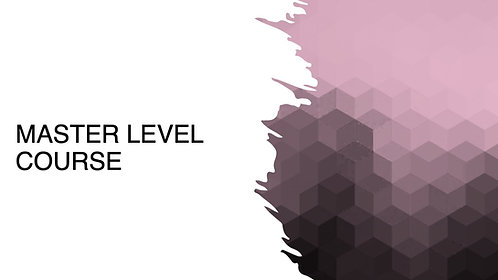 Masters Level Course