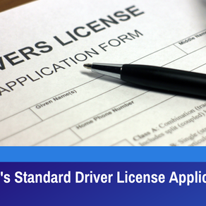New Jersey's Standard Driver License Application Update