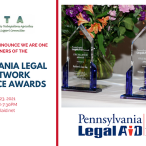 CATA Wins the Pennsylvania Legal Aid Network Excellence Award