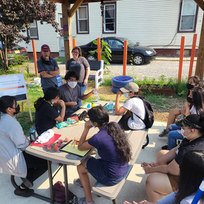 CATA'S Youth Food Justice Crew has nine new interns!