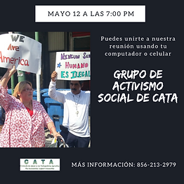 GrupodeActivismoSocialCATAInstagram May
