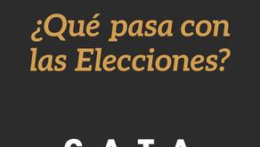 ¿Qué Pasa con las Elecciones?