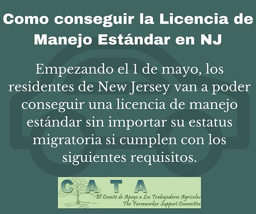 FB - NJ Driver's License Requirements  (