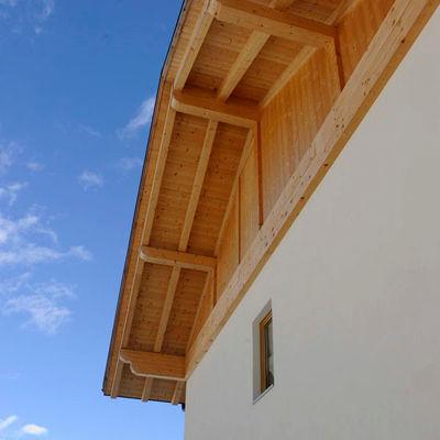 Casa in legno Carisolo, rivestimento facciata legno di larice