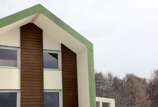 Casa in legno prefabbricata ecologica, casa passiva