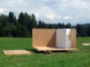 Modulo prefabbricato in legno