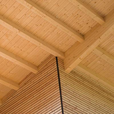tetto in legno rivestimento facciata listelli larice