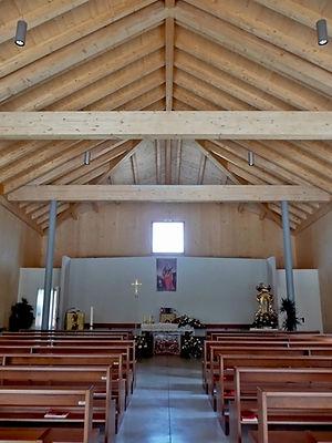 chiesa prefabbricata in legno antisismica