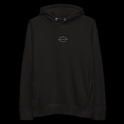 Unisex Zephyr Hoodie | Black + White + Grey