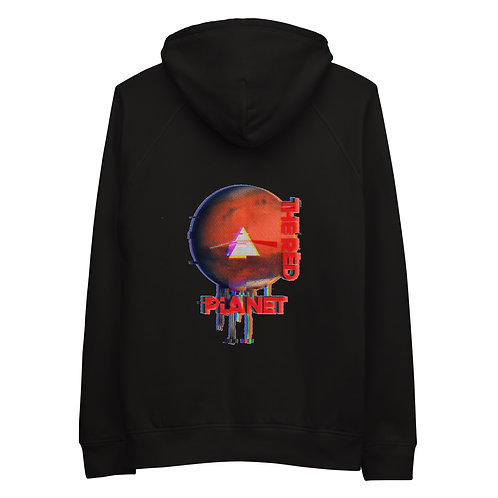 Men's 'The Red Planet' Graphic Hoodie | Black