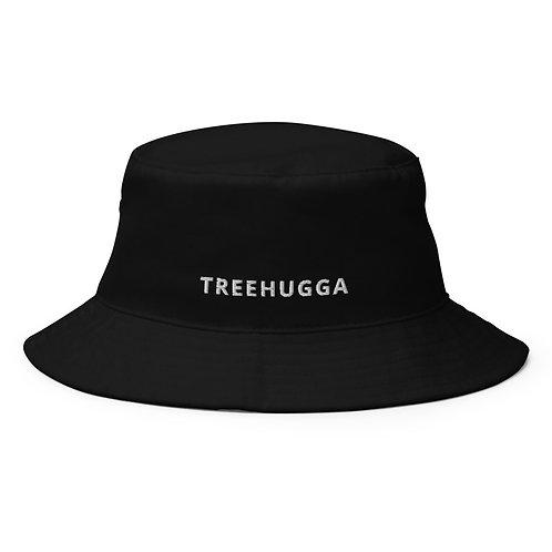 Treehugga Bucket Hat   Black + Navy