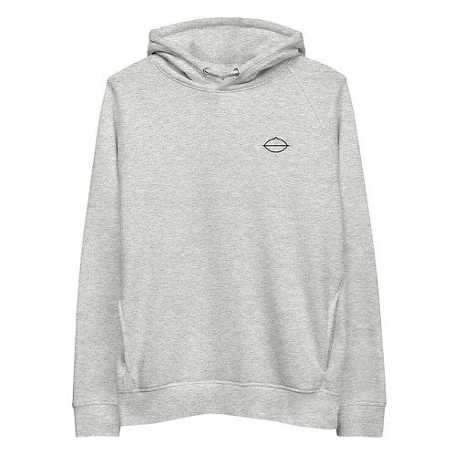 Men's Handpan Hoodie | Grey + White + Black