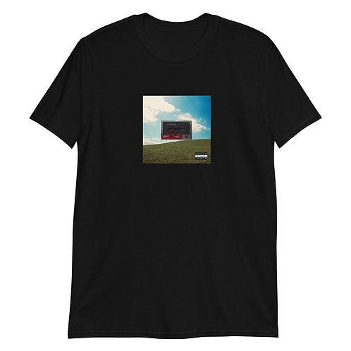 Men's Graphic Cassette Tape T-shirt   Black + White