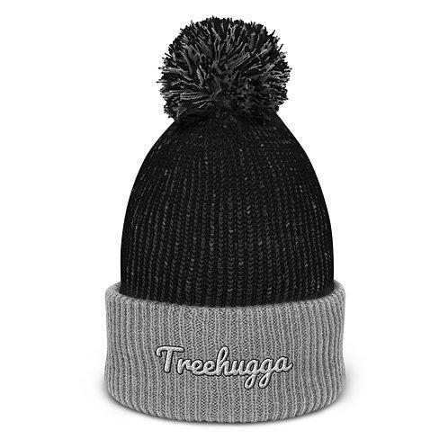 Treehugga Beanie   Black and Grey