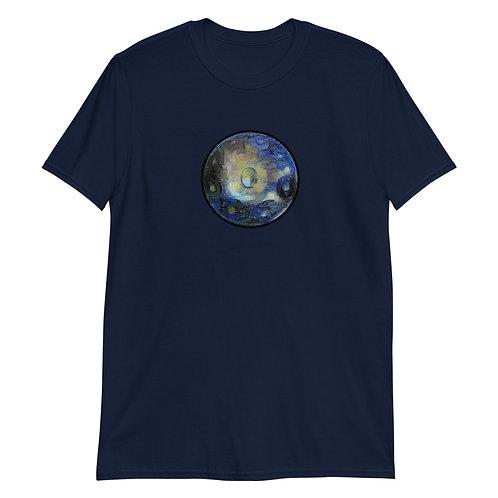 Men's Handpan Graphic Van Gogh T-shirt
