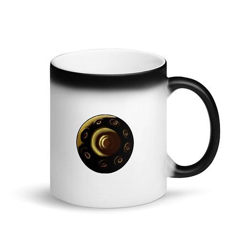 Matte Black Handpan Mug