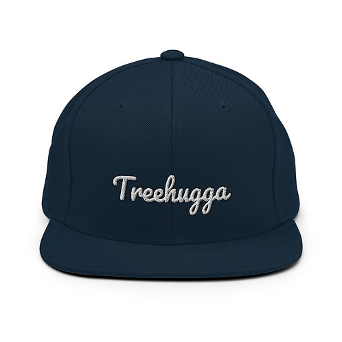 Treehugga Snapback Hat | Navy + Dark Navy + Dark Grey