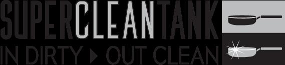 Super Clean tank logo