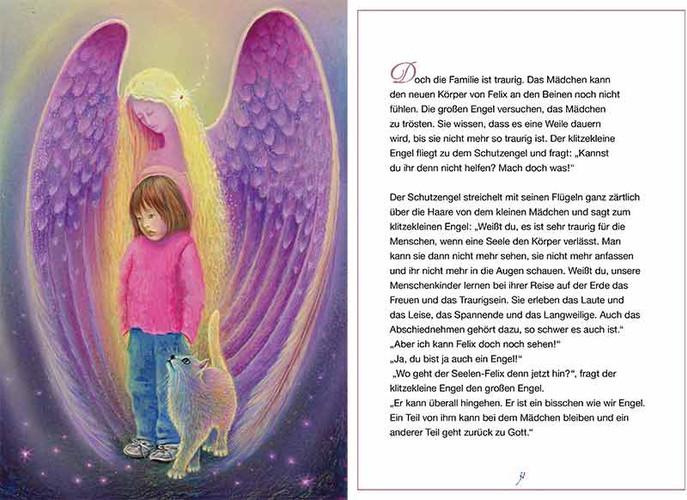 Der klitzekleine Engel hilft beim Abschied