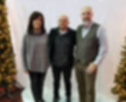 Living Word Films 'Christmas Wander' Premiere. Vanessa Simoes, Director Micah Caronna, and Jody Mitchell.