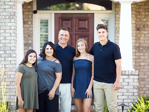 Cincinnati Personal Brand Photography - Family Session with Realtor Michelle Hudepohl