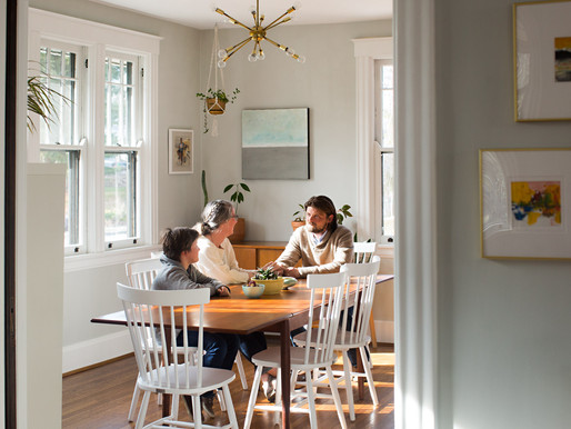 Published: Erin and Blake's Pleasant Ridge Mid-Century Modern Craftsman for Houzz