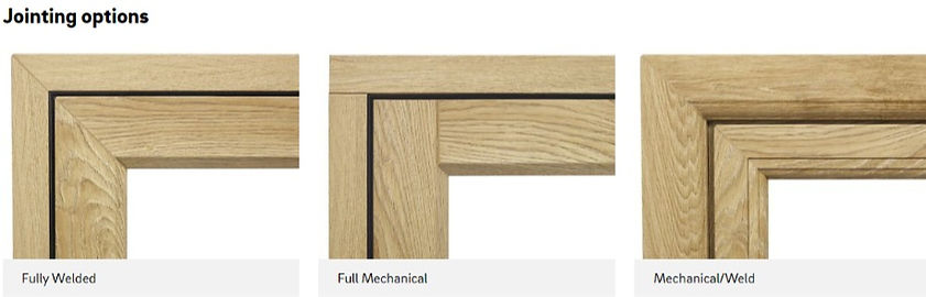 Rio Flush Sash Window Mechanical Joint Welded Joint