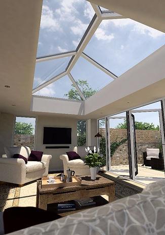 Conservatories sky lantern Roof Lantern Extension Haywards Heath Burgess Hill Sussex Fensa