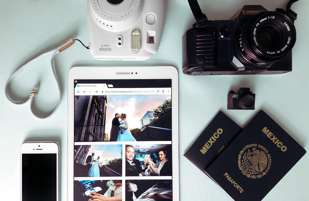 La cámara no hace al fotógrafo, foto tomada con celular Samsung A3