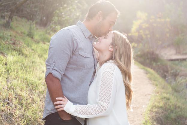 Edgar + Shauna I Griffith Park Engagement Shoot