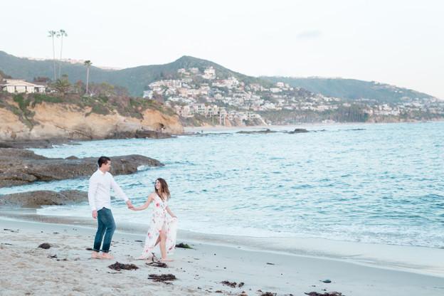Jenny & Clint Laguna Beach Engagement