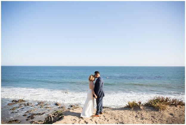 Malibu Beach Wedding at The Sunset