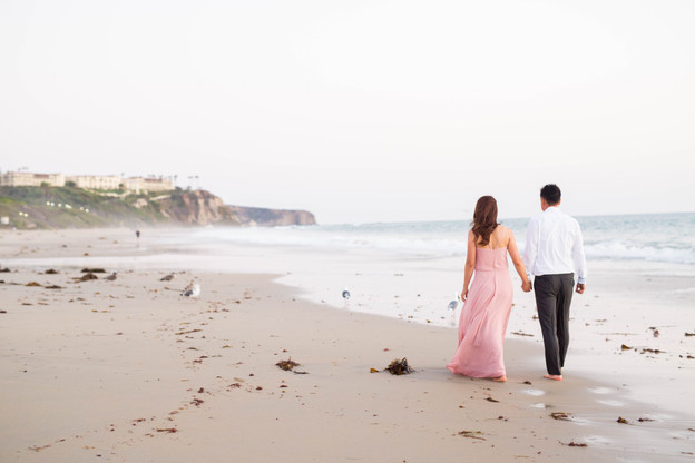 Monarch Beach Resort Engagement Session