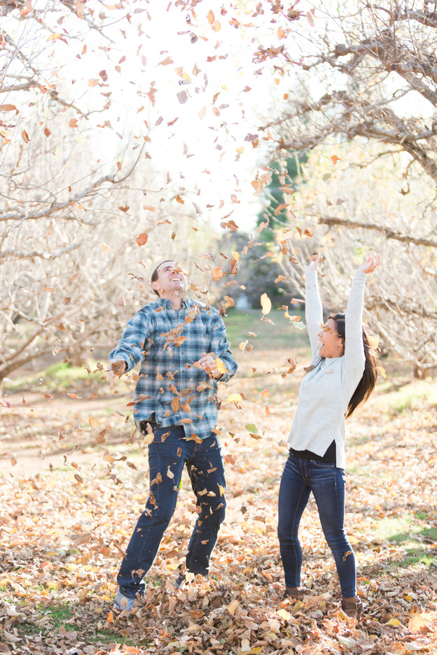 Jenny & Travis | Apple Hill Ca Engagement