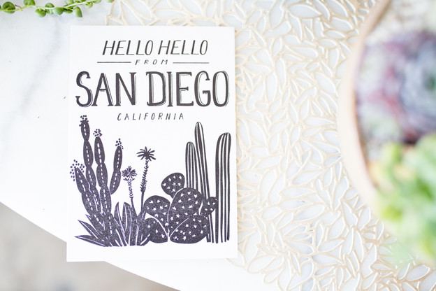 """San Diego Blog Post #2 """"Out & About"""""""