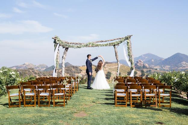 Saddle Rock Ranch Wedding | Malibu, Ca | Clint & Jenny
