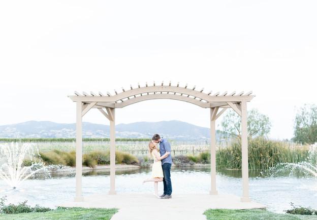 Temecula Winery Engagement | Madison & Nathan