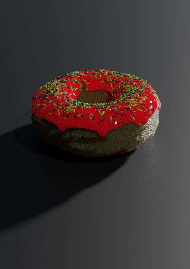 Overly Dramatic Donut by Kameron Koslowski