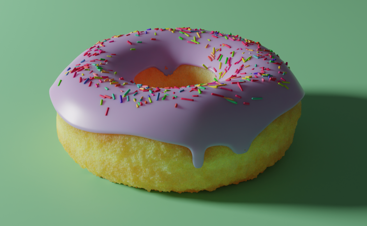 Final Doughnut by Alec Allen