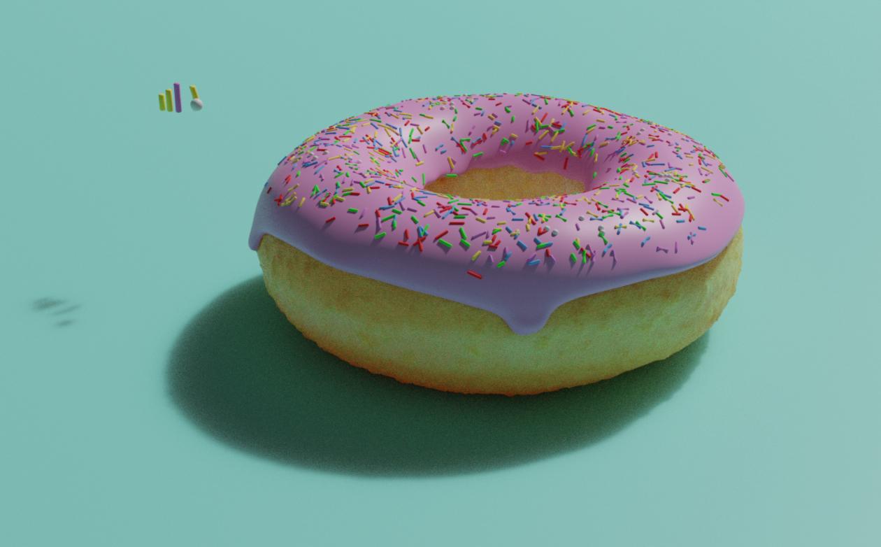 Finalized donut by Sierrah Kelly