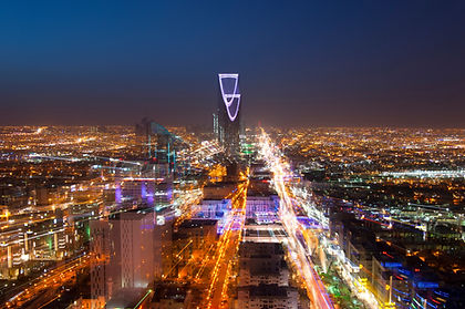 Riyadh skyline at night #3, Fast Transit