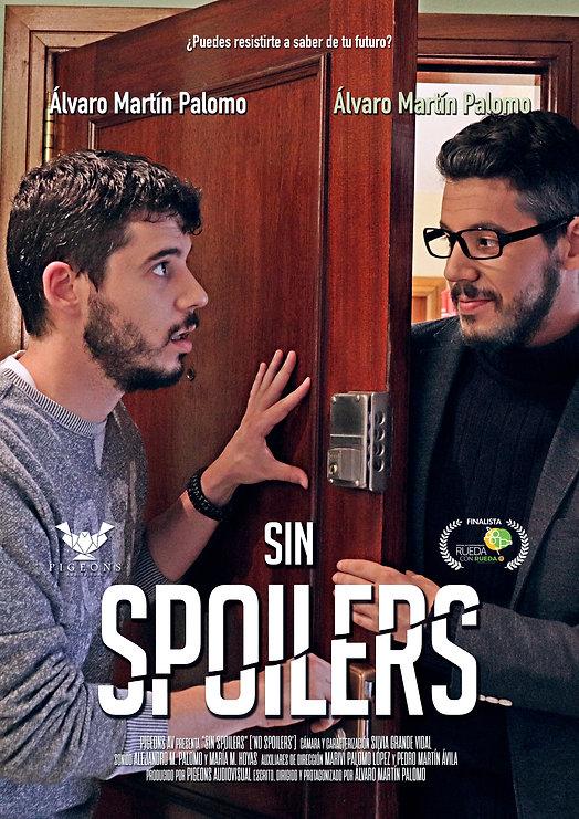 Póster cortometraje SIN SPOILERS