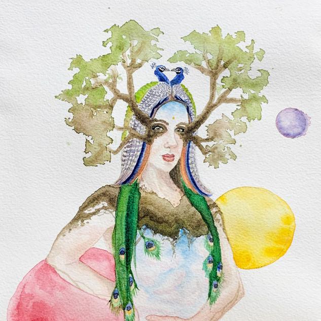 High Priestess (study)