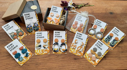 Polymer clay earring - by Romi Clay Studio