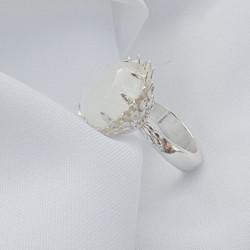STG Moonstone Lotus Design - Minturn Jewellery Ltd