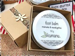 Foot balm in gift box - Kumanu NZ