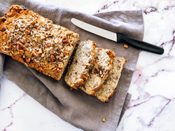 Sunflower Date and Walnut Nut Flower Bread Pre Mix
