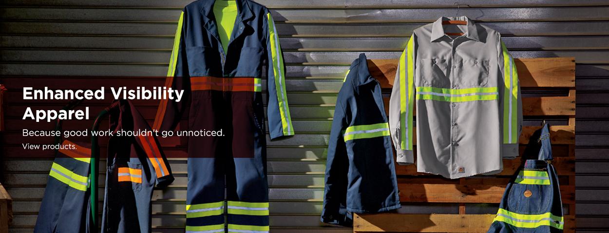Enhanced Visibility Clothing